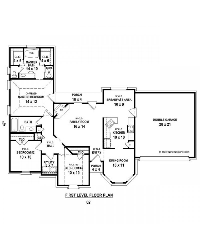 House plan sul 1391 521 f european for 521 plan