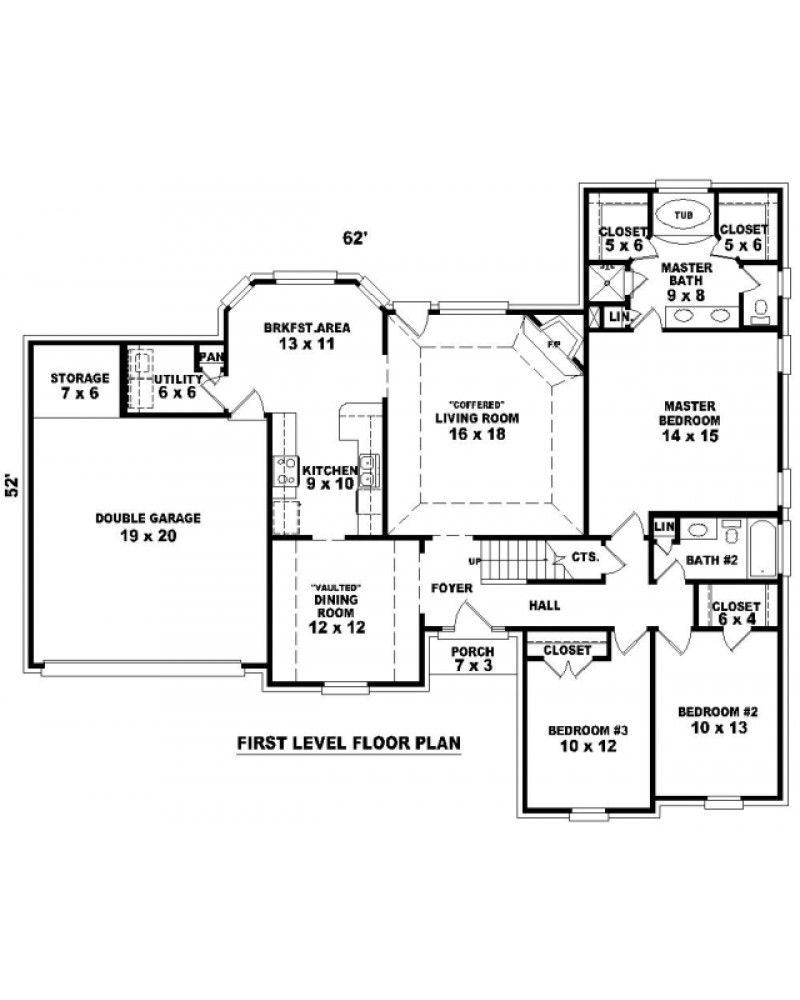 House Plan Sul 1780 555 484 Ft