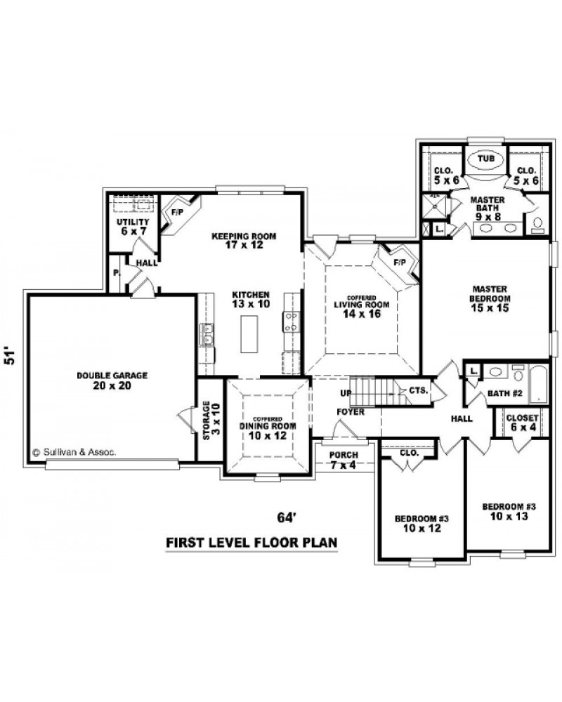 House Plan Sul 1880 526 473 Ft