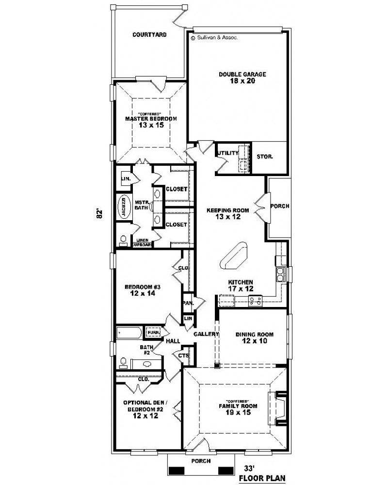House plan sul 1939 528 ft european for 528 plan