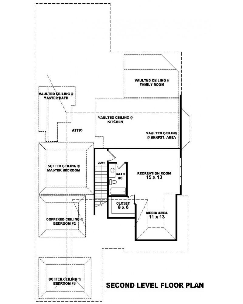 House Plan Sul 2539 534 509 F European
