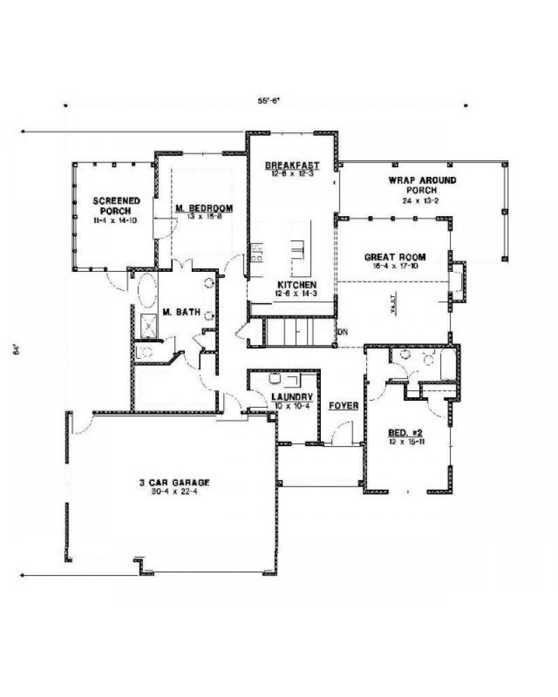 House Plan Web 05 029 01 Ranch