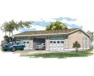 SHD-SGA010 Garage