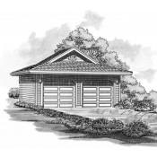 SHD23-576 Garage