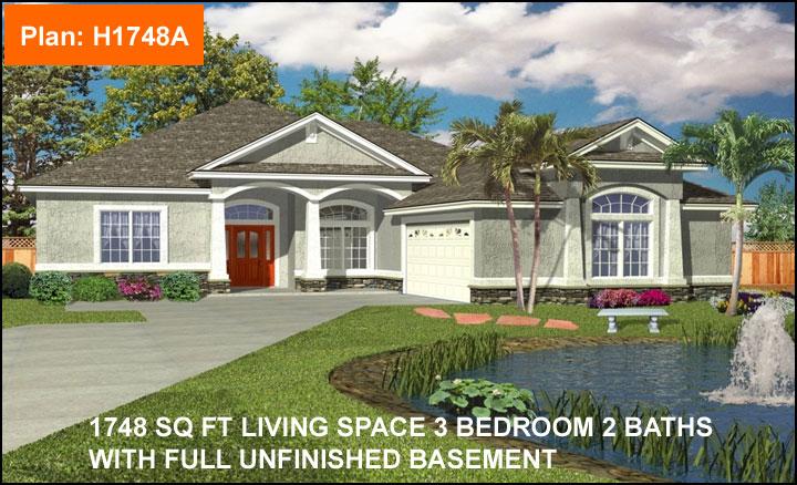 House Plan H1748A