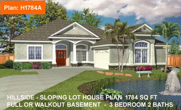 House Plan H1784A