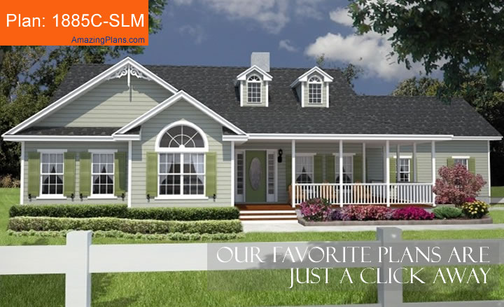 House Plan 1885c-SLM